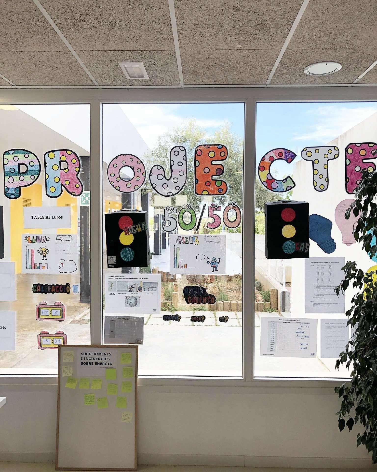 Projecte 50/50 a les escoles de Maó