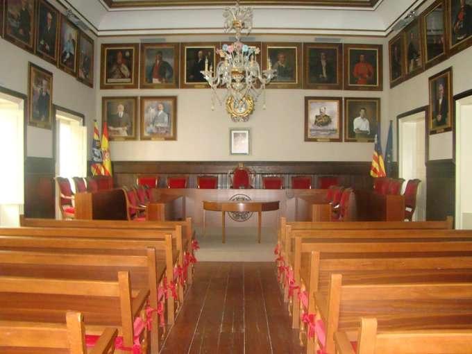 Ple Municipal de l'Ajuntament de Maó