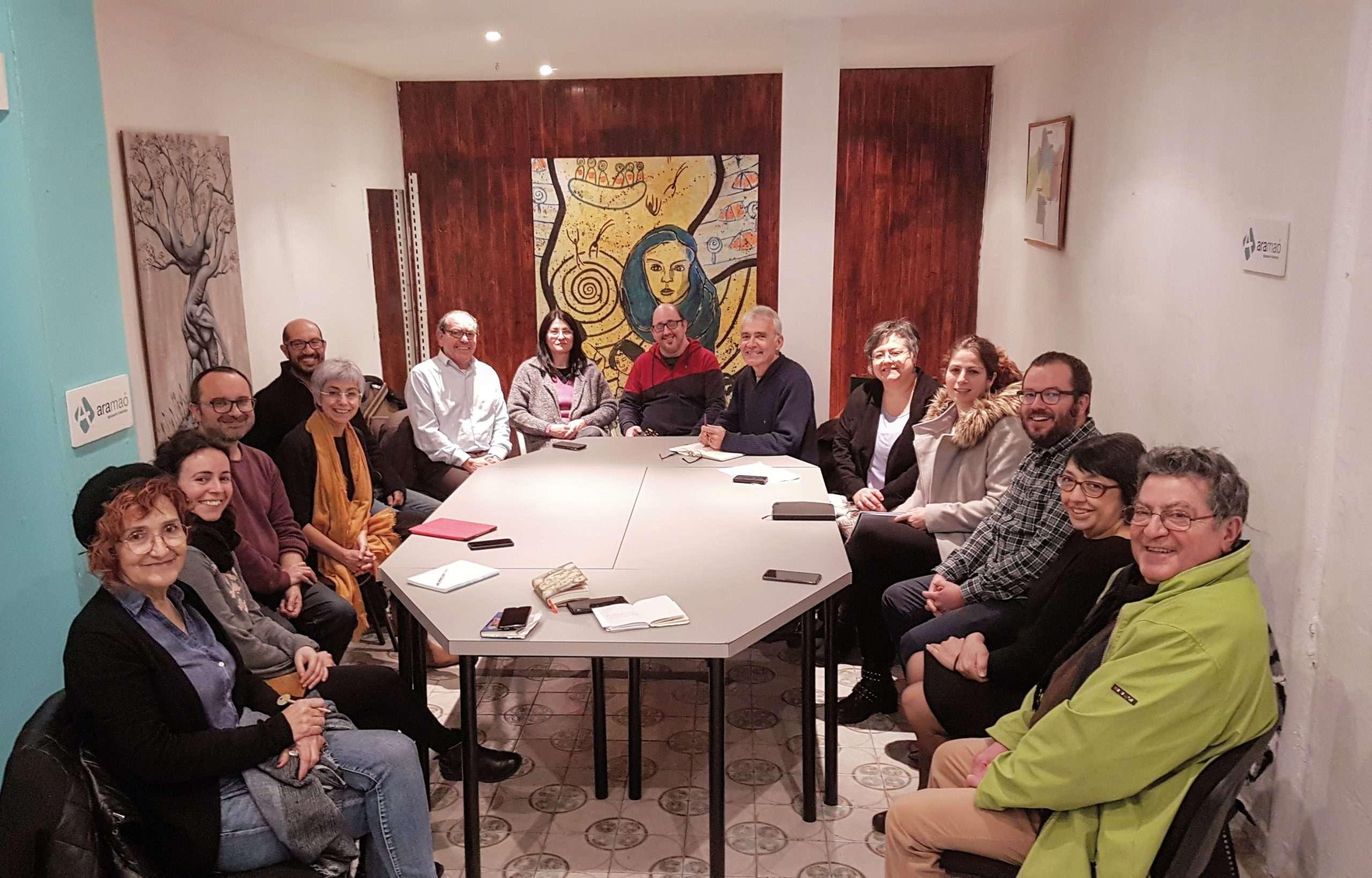 Reunió de treball Ara Maó i Unides Podem
