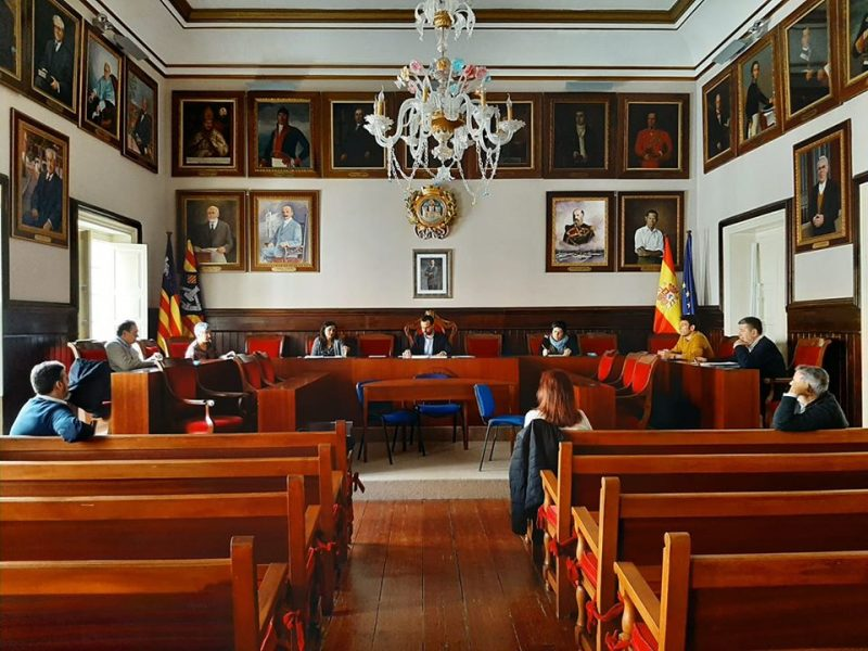 Comissió de seguiment de l'Ajuntament de Maó pr seguir la crisi del coronavirus