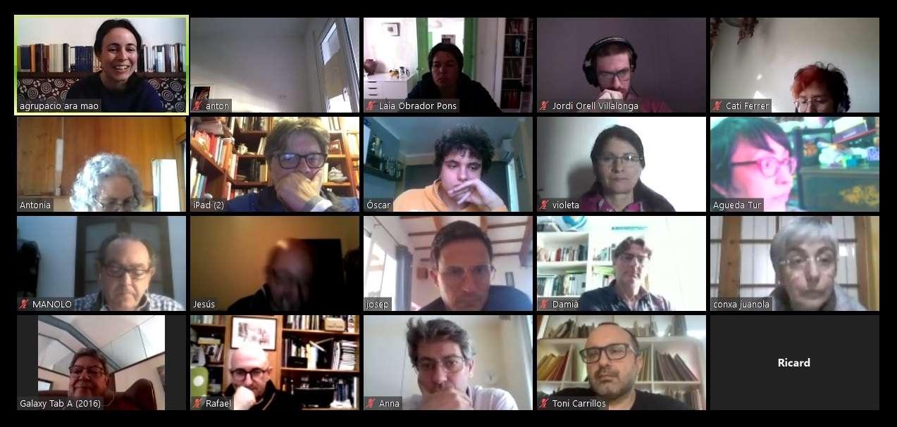 Reunió per videoconferència entre Ara Maó i Més per Menorca