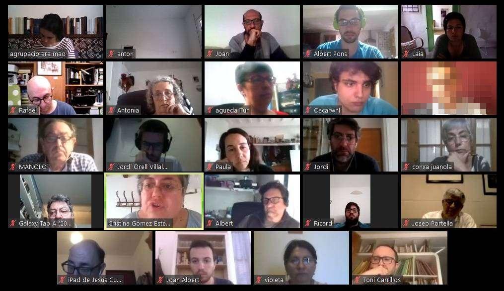 Reunió Unides Podem Ara Maó