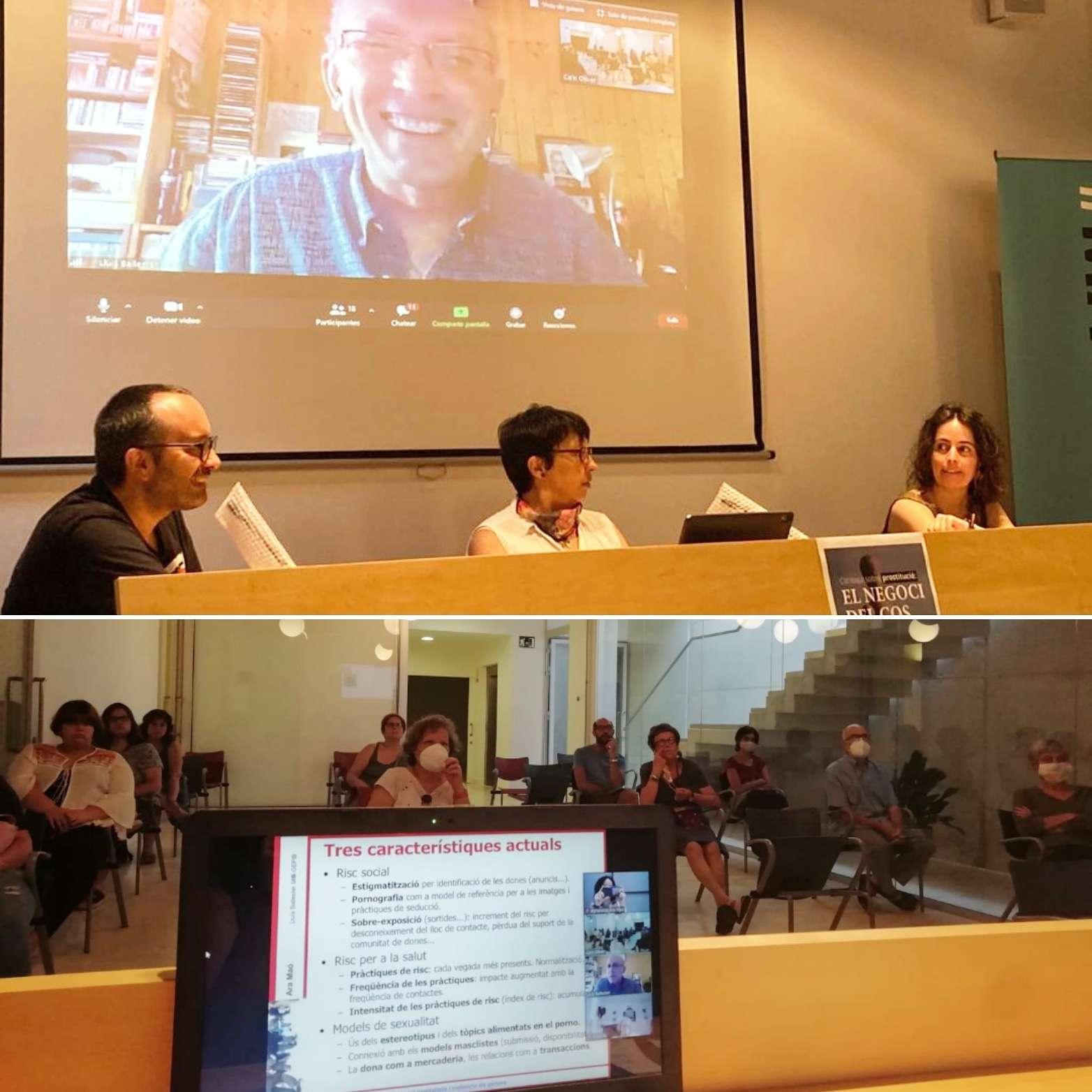 Ara Maó organitza un col·loqui sobre la prostitució amb Lluís Ballester