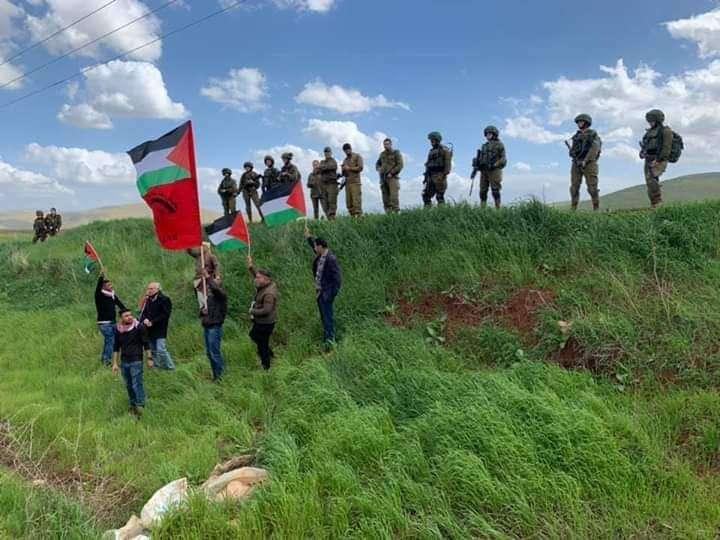 Moció de suport al poble palestí i de rebuig a l'annexió per part d'Israel de la Vall del Jordà