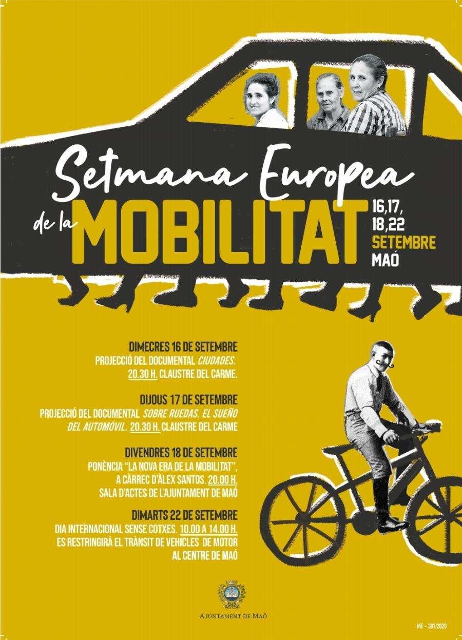 L'Ajuntament de Maó se suma a la Setmana Europea de la Mobilitat