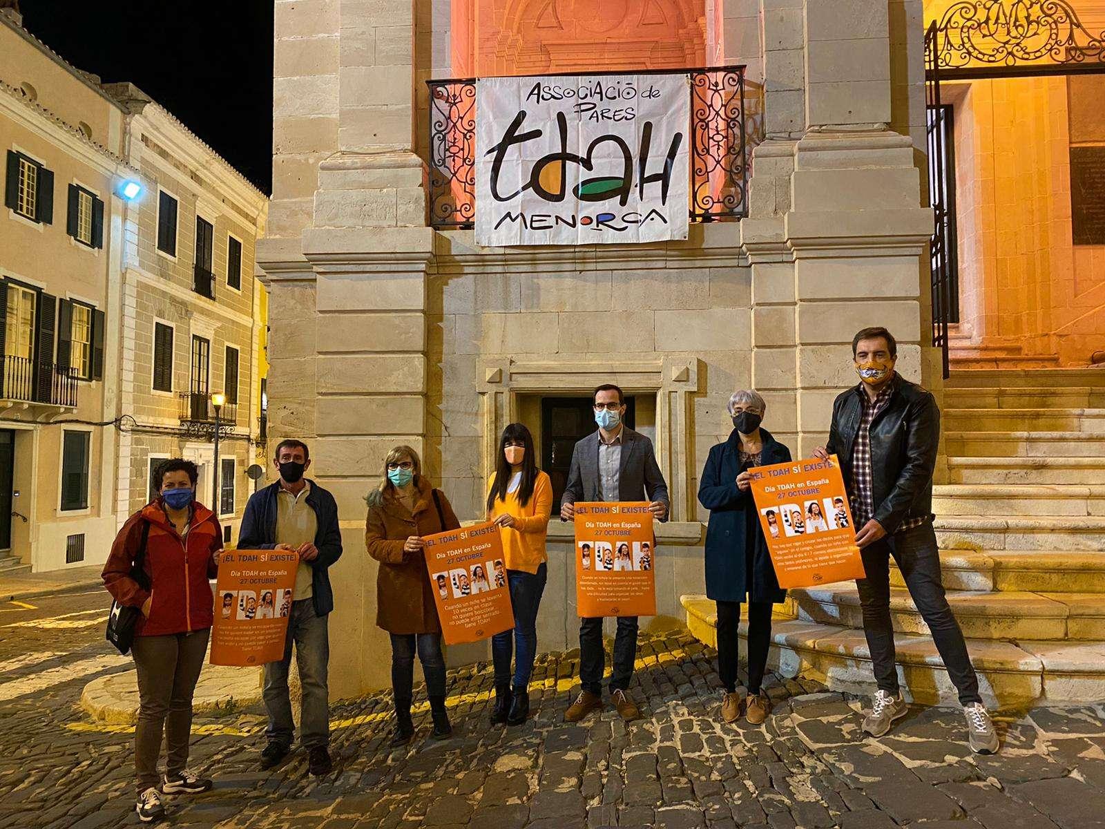 L'Ajuntament de Maó se suma al Dia Nacional del TDAH