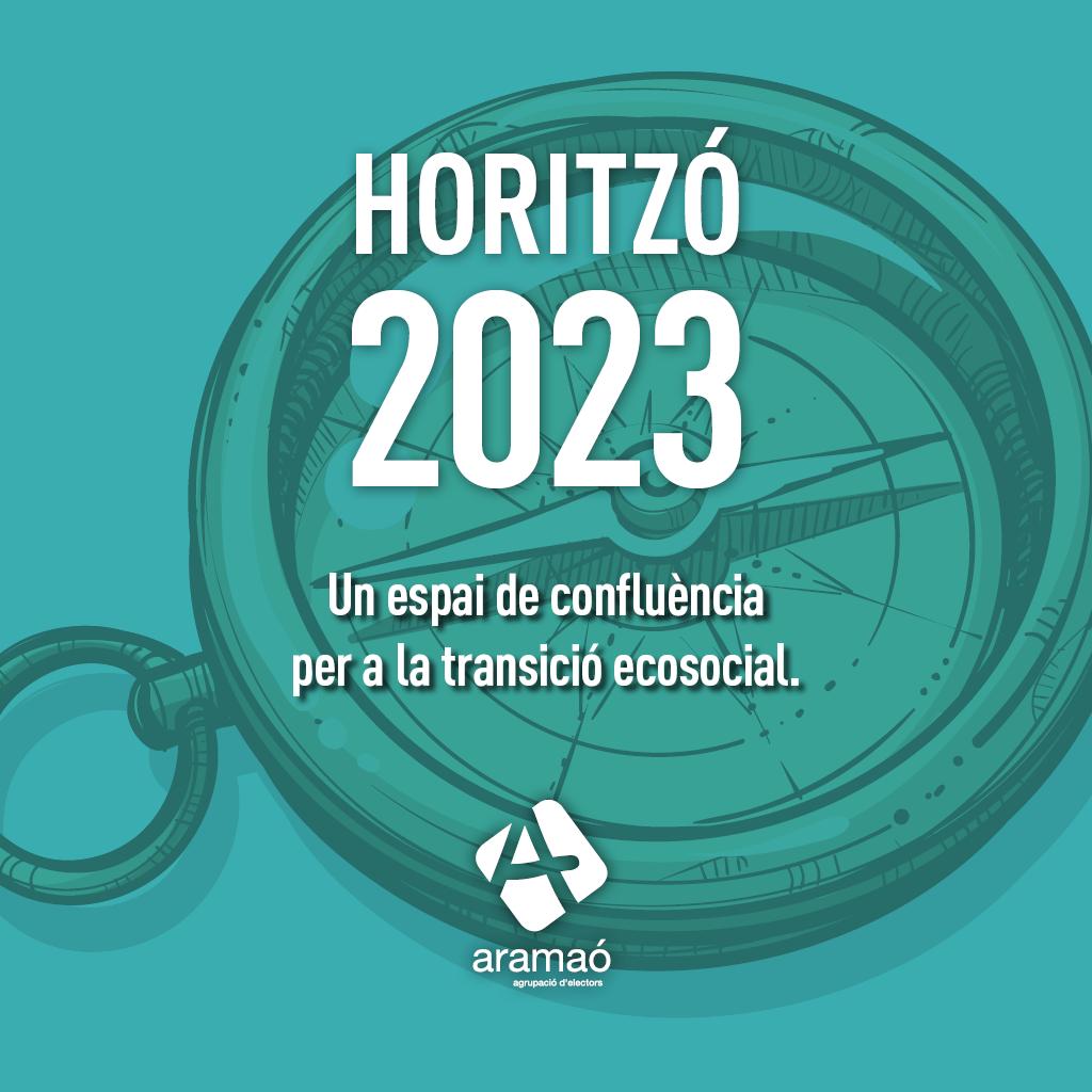 L'ASSEMBLEA D'ARA MAÓ APROVA LA PONÈNCIA 'HORITZÓ 2023. UN ESPAI DE CONFLUÈNCIA PER A LA TRANSICIÓ ECOSOCIAL'