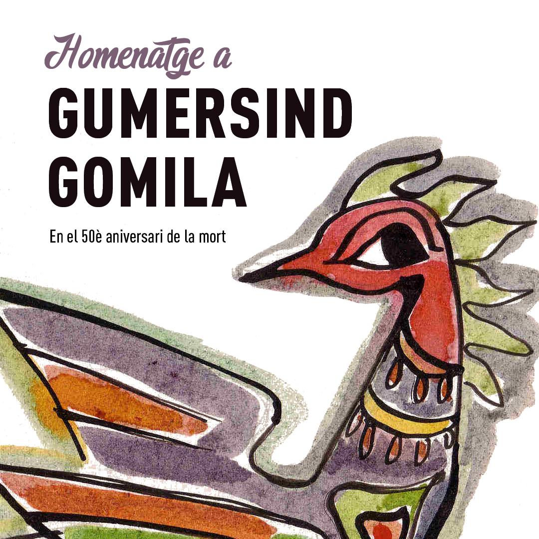 Homenatge a Gumersind Gomila en el 50è aniversari de la seva mort
