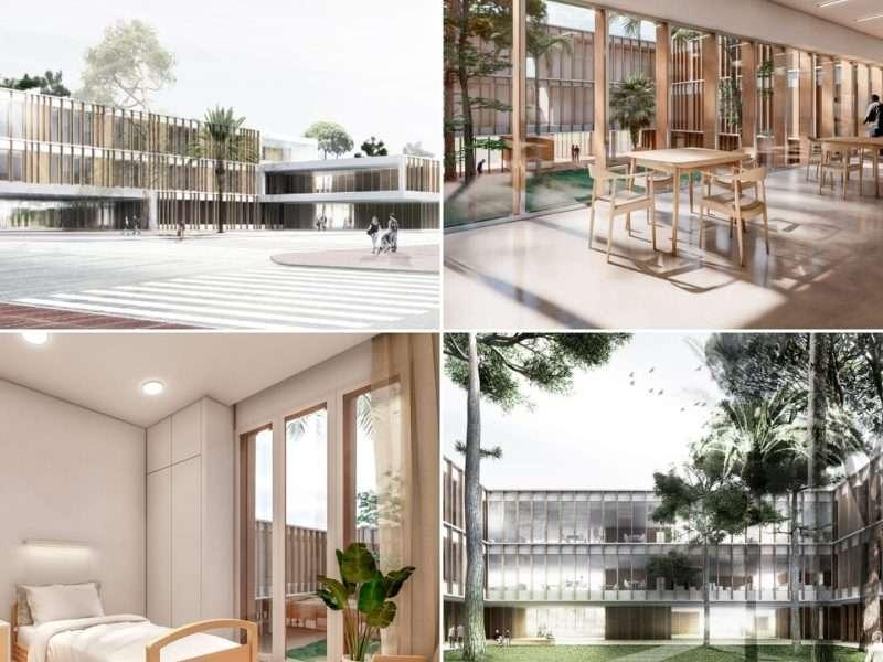 Surt a licitació el projecte per a la construcció de la nova residència a la zona de l'antic quarter de Santiago