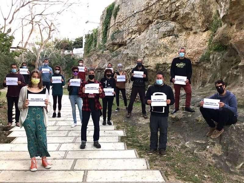 Campanya unitària pel dret a manifestació