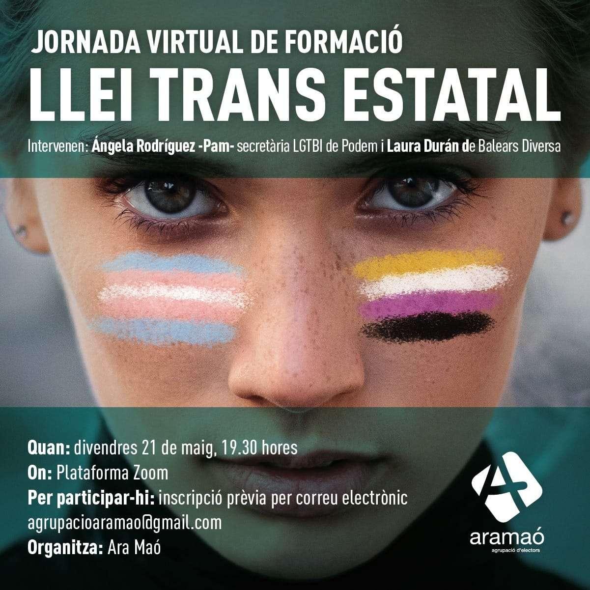Jornada virtual de formació sobre la llei trans
