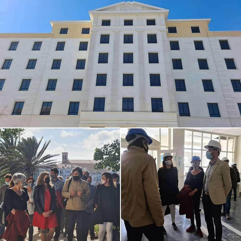 Finalitza la primera fase de les obres de reconversió de l'antic hospital Verge del Toro