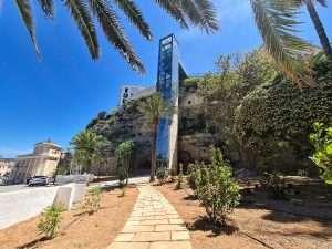 Nou ascensor panoràmica de Maó - Menorca