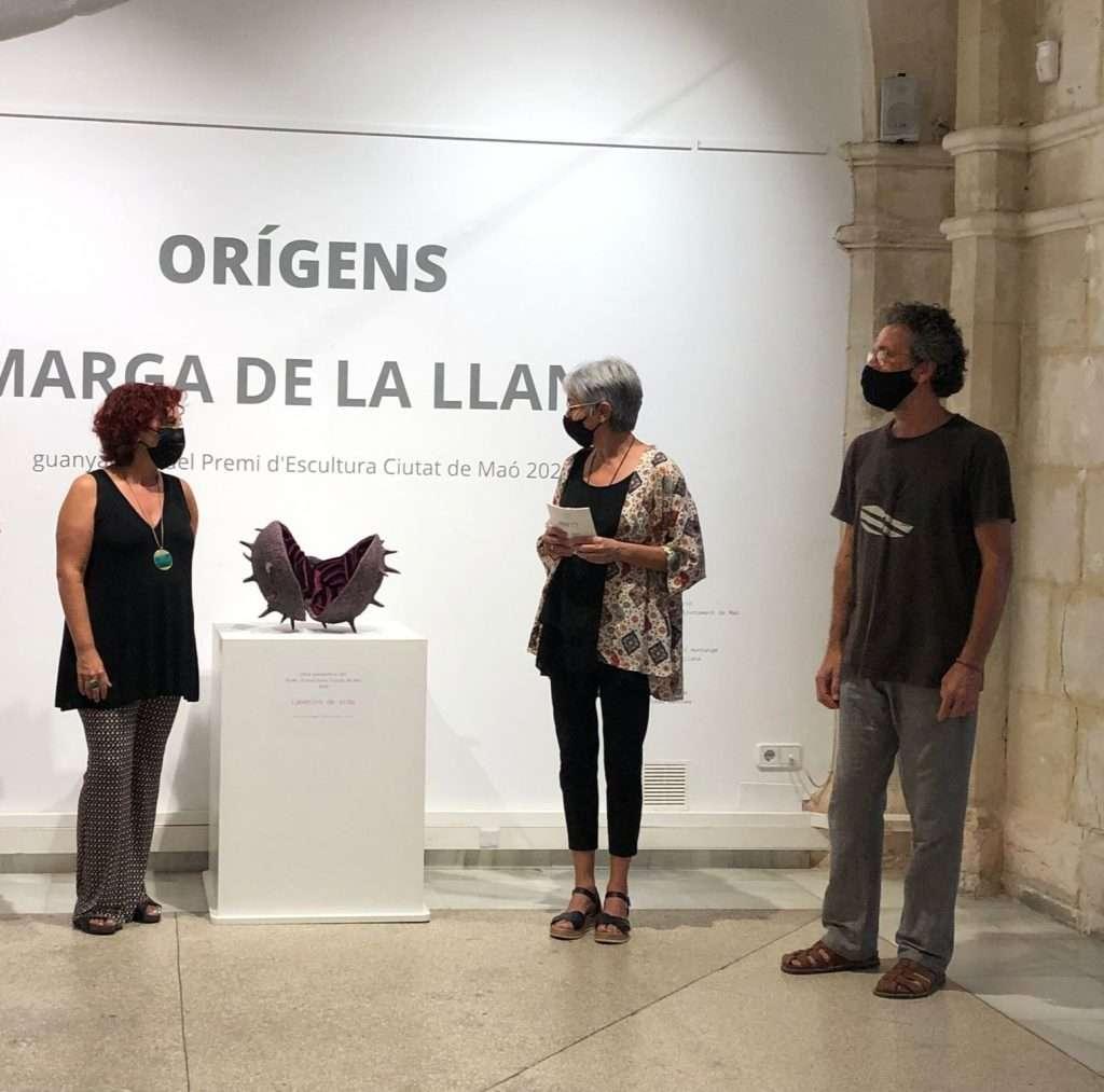 Exposició de Marga de la Llana a Maó